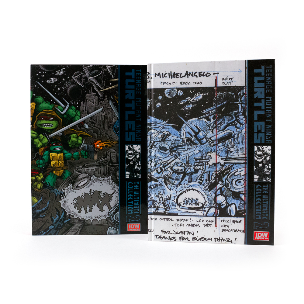 TMNT: THE ULTIMATE COLLECTION VOLUME 1 RED LABEL